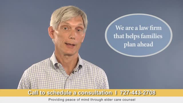 We are a Law Firm that Helps Families Plan Ahead